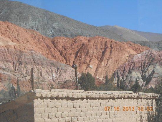 Cerro de los Siete Colores : Vista del cerro