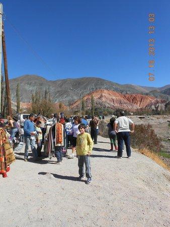 Cerro de los Siete Colores : Punto de mejor Vista del cerro