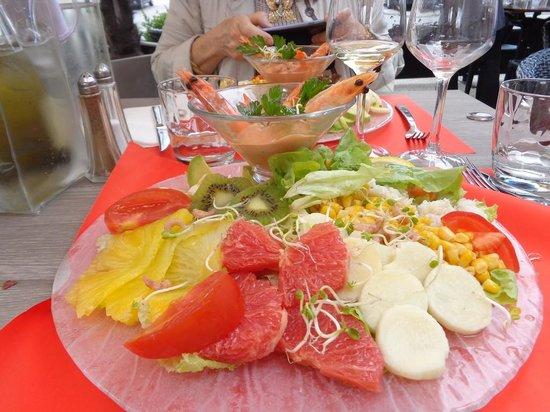 La Terrasse: Très belle salade