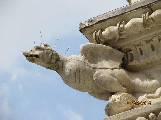 Piazza del Campo: Dragon