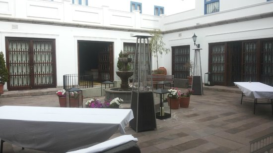 Palacio del Inka, a Luxury Collection Hotel: inside garden