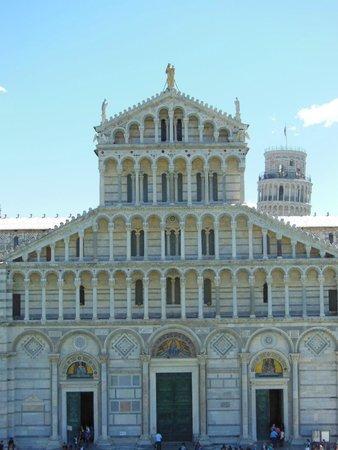 Duomo di Pisa : Duomo (vista do Batistério)