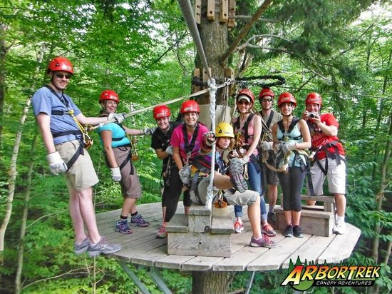 ArborTrek Canopy Adventures: Treetop fun