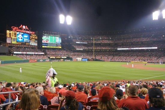 Busch Stadium: night game