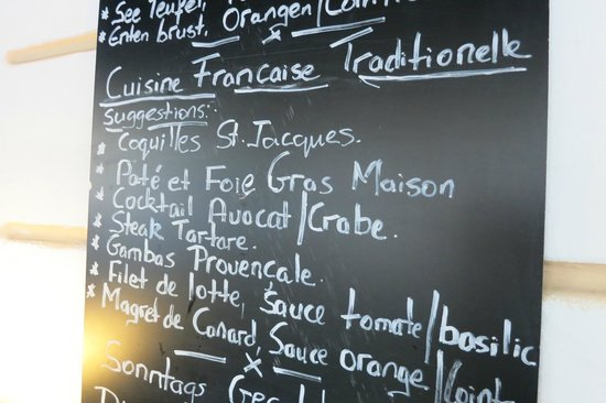 Le 27 Restaurante: Daily offers