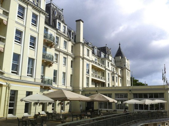 The Grand Hotel: Rear view of hotel