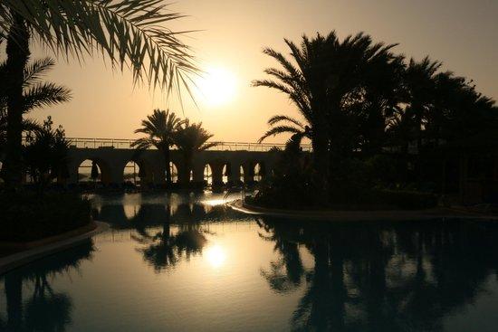 SENTIDO Djerba Beach: Levé de soleil