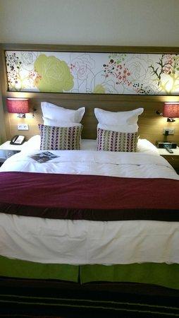 Renaissance Malmo Hotel: Kingsize seng