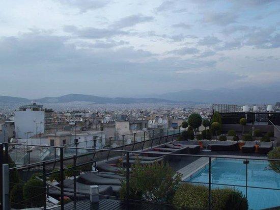 Novotel Athenes : hotel rooftop