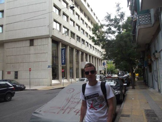 Novotel Athenes: outside