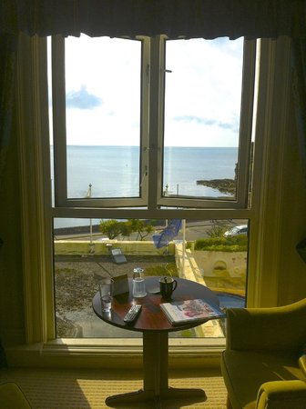 The Grand Hotel : View from room 208