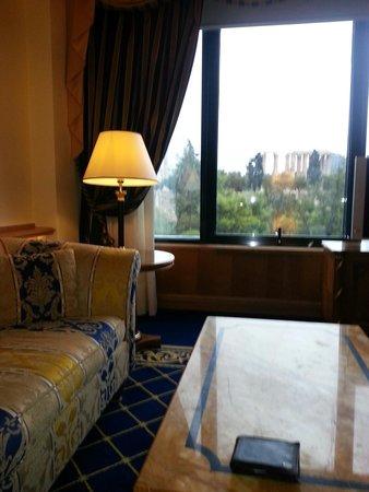 Royal Olympic Hotel: Vista dalla camera