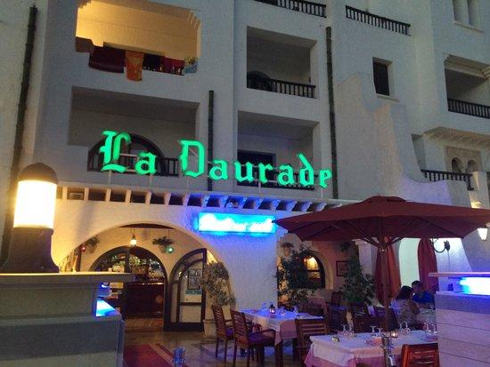 La Daurade : La façade du restaurant