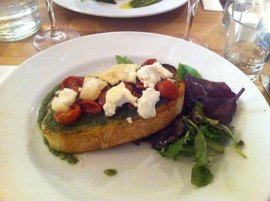 Seafood Cafe: Goats cheese ��