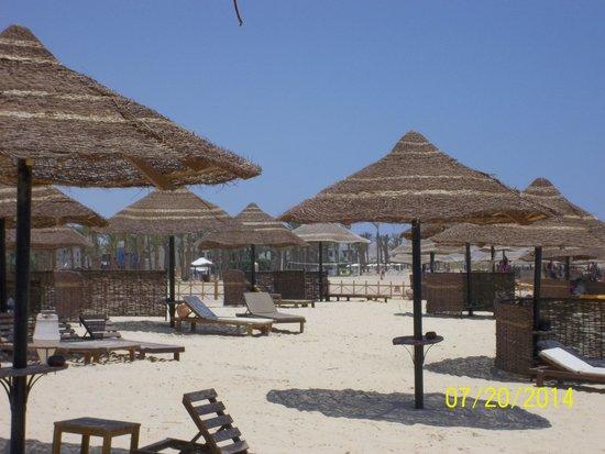 The Palace Port Ghalib: The beach