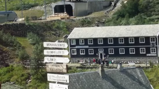 The Flam Railway: on the way to Flam