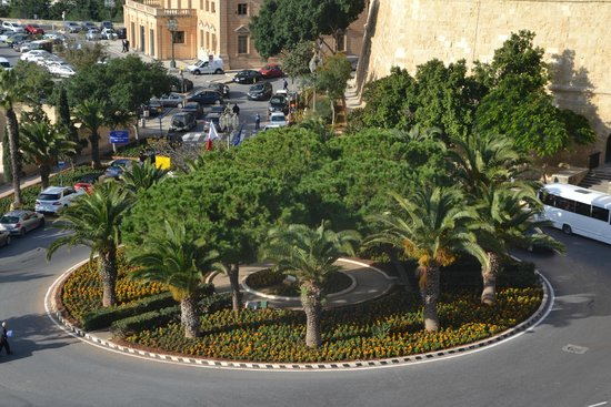 Castille Hotel: View from our room