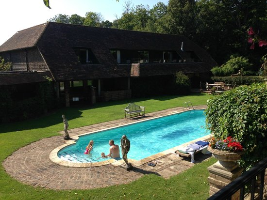 PowderMills Country House Hotel: Pool area