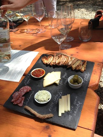 Bartholomew Park Winery: make a reservation for the pairing!