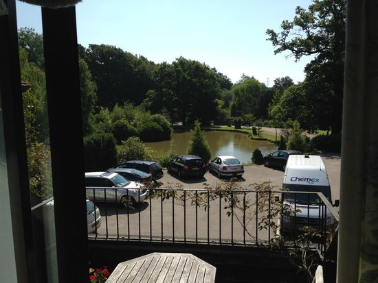 PowderMills Hotel & Restaurant: View from room 34