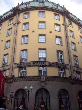 Grand Hotel Bohemia: esterno hotel