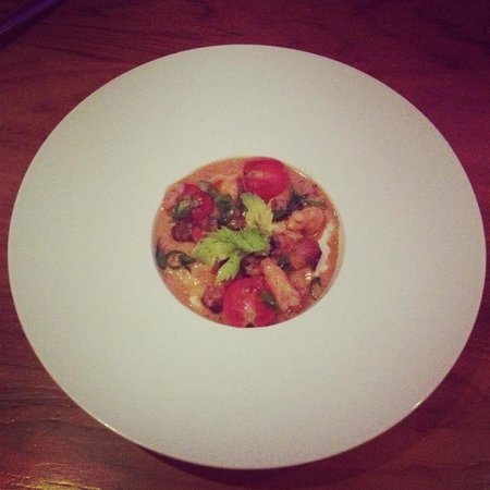 Mereday's Fine Dining: Shrimp and grits