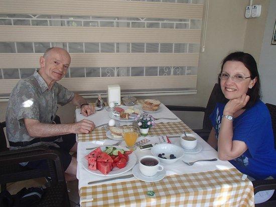 Dost Hotel : desayuno