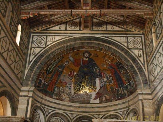 Basilica San Miniato al Monte: クーポラの壁画