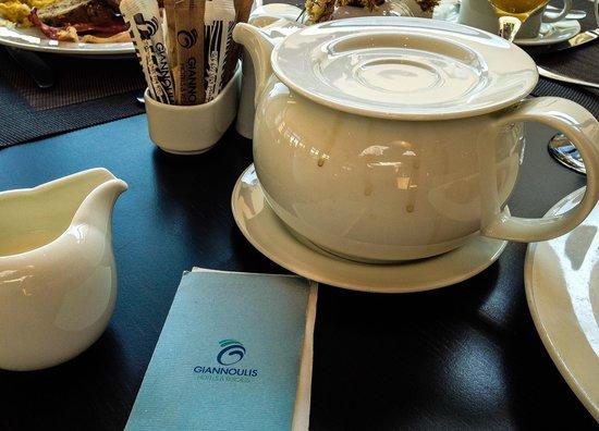 Cavo Spada Luxury Resort & Spa : Caraffa caffè