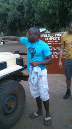 Garoda Resort: alfonso agenzia vera africa watamu