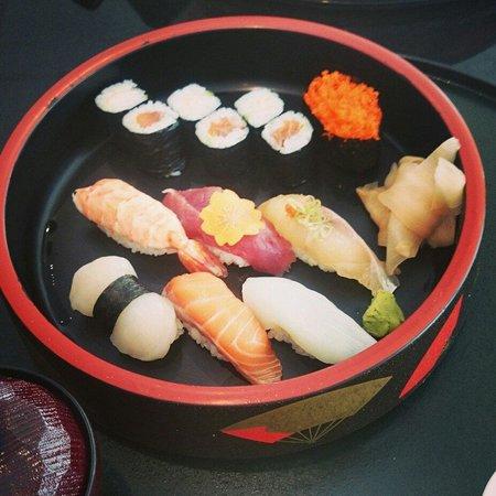 Basho-An: Matsu sushi was really fine. My colleague got tsubaki sushi portion but it was also amazing.