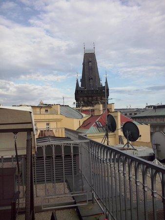 Grand Hotel Bohemia : terrazzo stanza 711