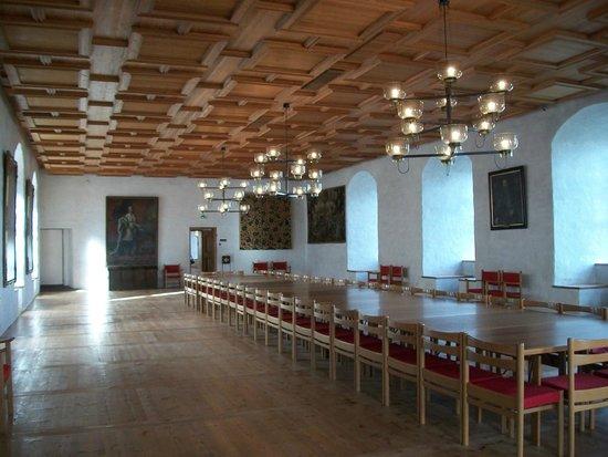 Castillo de Turku: salone