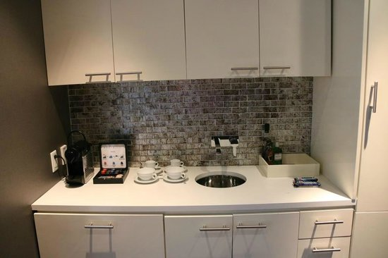 Andaz Wall Street: The kitchen