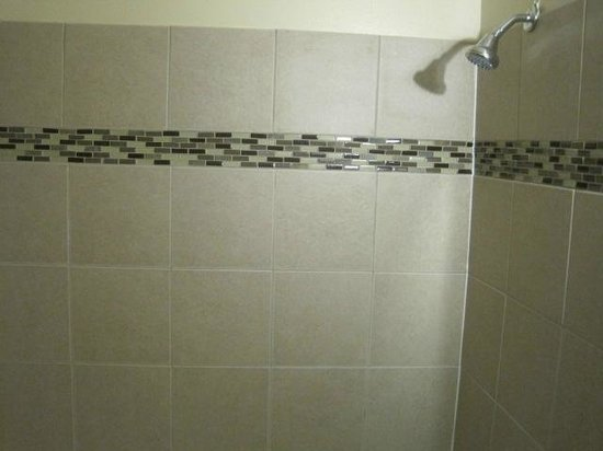 King's Arms Motel: Leaky shower
