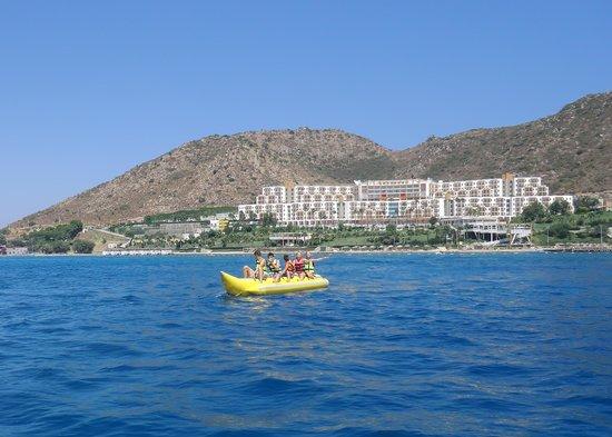 Kefaluka Resort : banana with a view