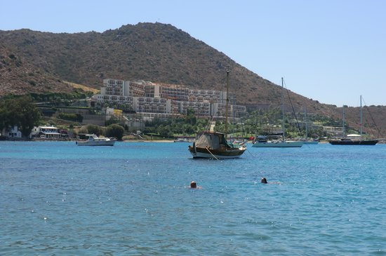 Kefaluka Resort: view from akyarlar