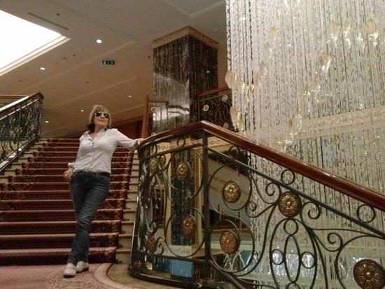 Lotte Hotel Moscow: las maravillosas escleras