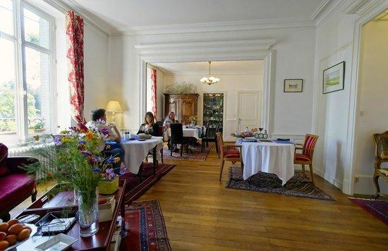 Les Jardins de Lois : breakfast