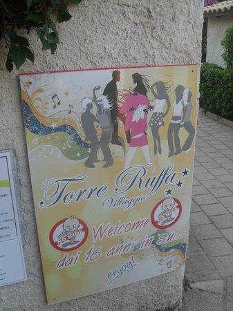 Hotel Villaggio Roller Club: torre ruffa