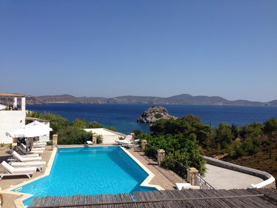 9 Muses Patmos: View from 9 Muses