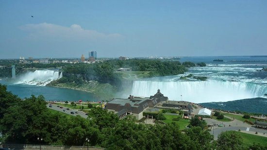 Niagara Falls Marriott Fallsview Hotel & Spa : View from 10th Floor