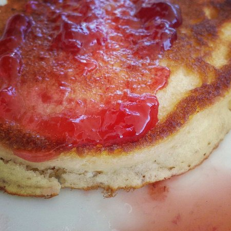 Taskonak Hotel: Pancake homemade by Angela
