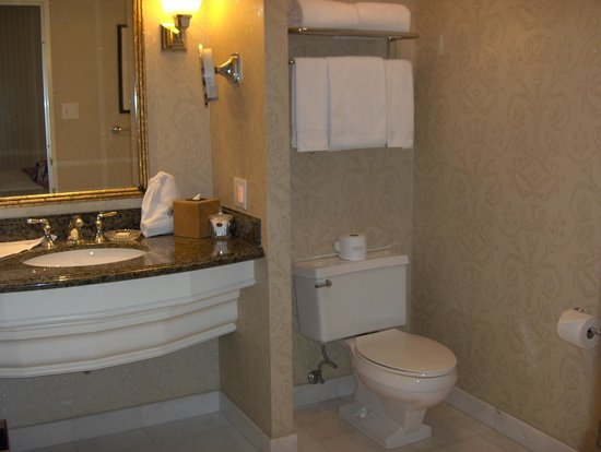 The Fairmont Olympic Seattle : Well equipped bathroom
