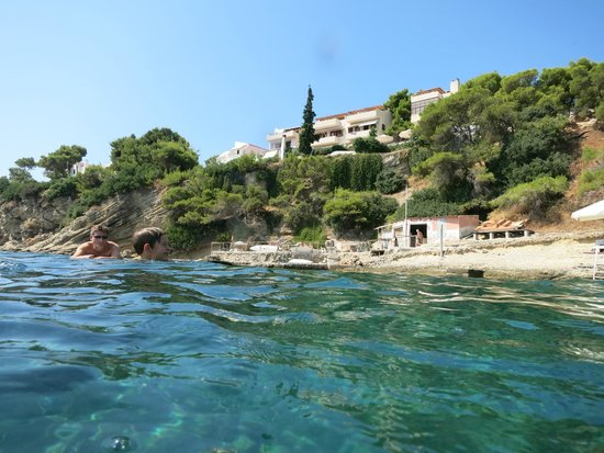 Rosy's Little Village: The view from the water