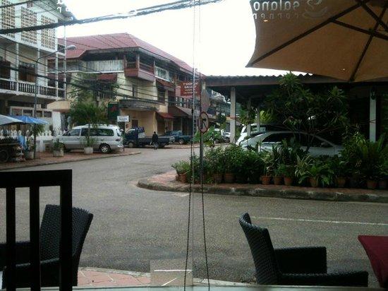 Salana Boutique Hotel: Vista des del comedor
