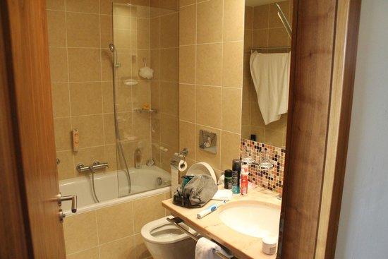 Hotel Clement Prague: Bathroom