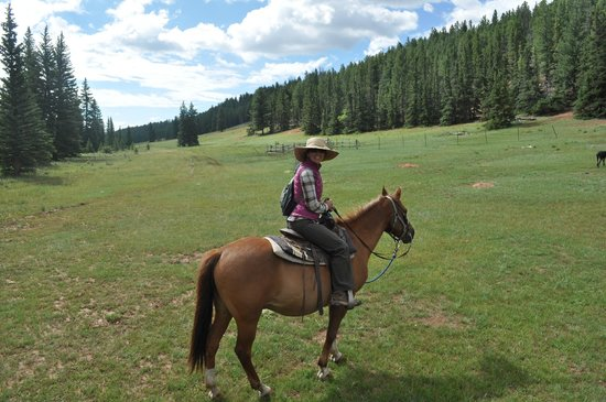 Platte Ranch Riding Stables: Stunning views!