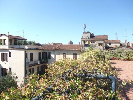 Palazzo Ricasoli Residence: Vue du Solarium
