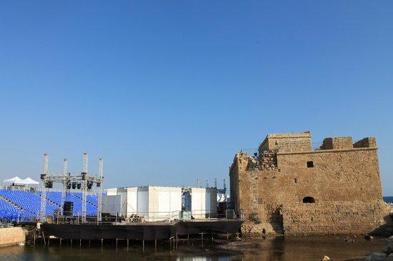 Paphos Harbour Castle : Крепость Пафоса
